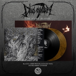 DEUS MORTEM - The Fiery Blood LP (ltd AMBER)